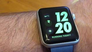 One week with new Nike+ Apple Watch - First Impressions, Watch Faces, Battery Life.