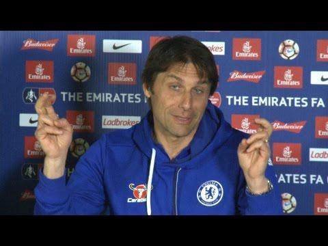 Antonio Conte Full Pre-Match Press Conference - Chelsea v Tottenham - FA Cup Semi-Final