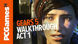 Gears 5 walkthrough Act 1 | No commentary