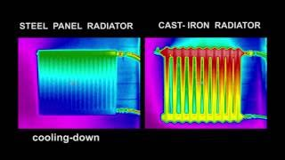 Cast-iron versus steel radiators comparison
