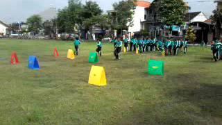 pembelajaran penjaskes kelas 2, lompat rintangan