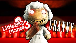 FREE Granny Costume From Granny Horror Game - LittleBigPlanet 3 PS4 Gameplay