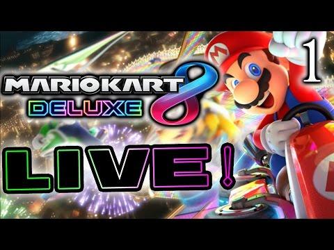 Mario Kart 8 Deluxe BATTLE MODE! Part 1