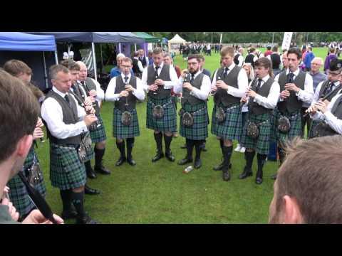 UK Championships 2017 - Inveraray & District Pipe Band - Chanter Practice