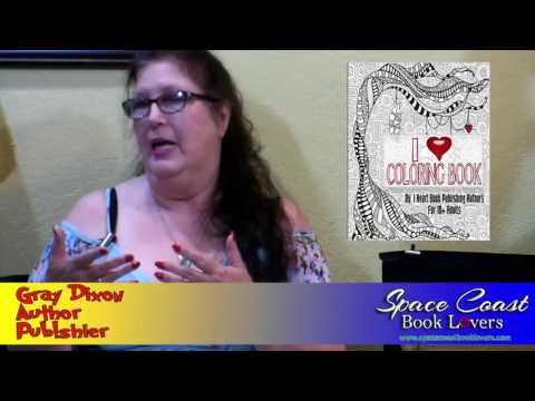 Gray Dixon (Author & Publisher from Space Coast Book Lovers) interview on the Hangin With Web Show