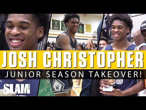 Josh Christopher COOKED EVERYONE this Year! 👨🏽🍳 Junior Season Highlights! 🔥