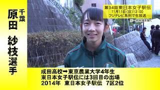 選手紹介#18 原田紗枝(千葉)