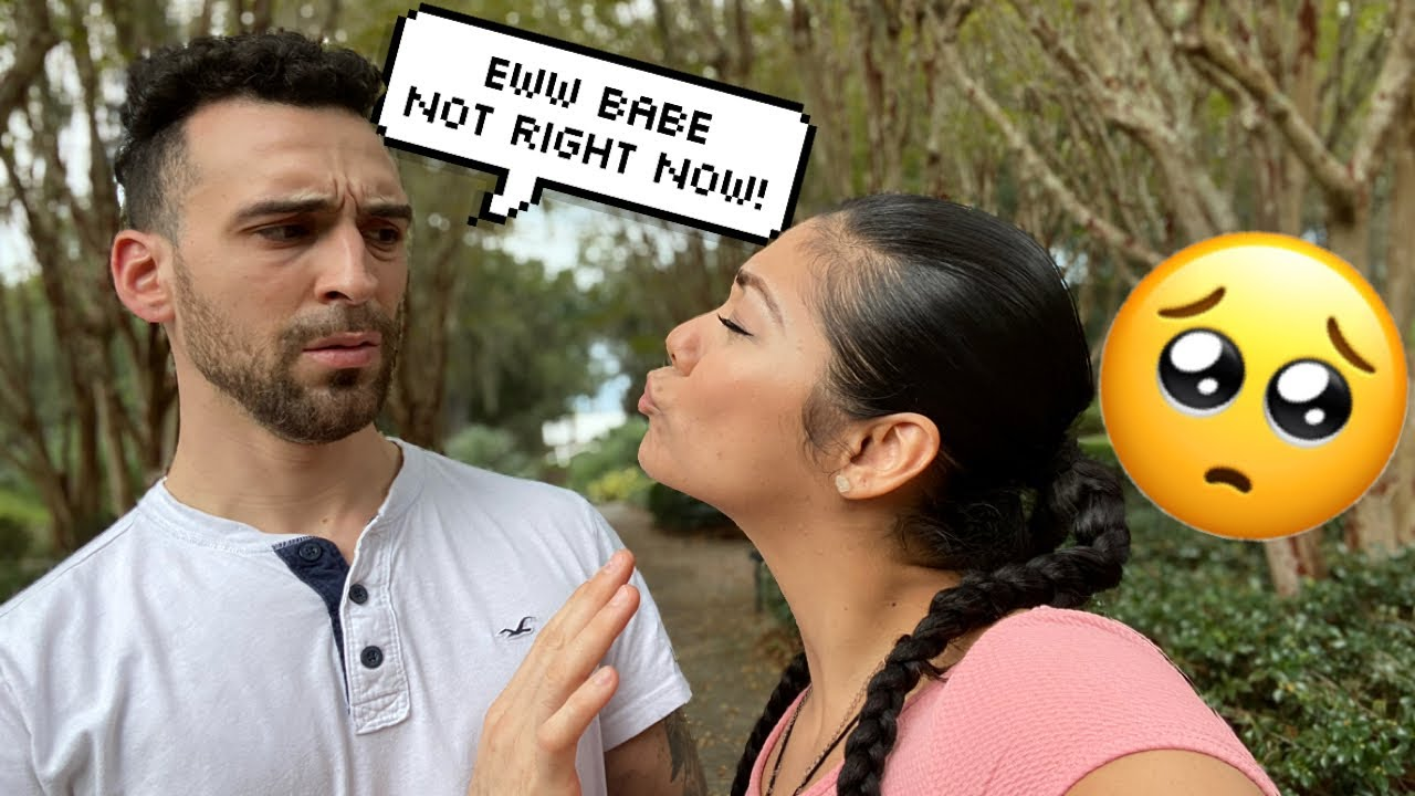 Download Acting to Embarrased to Kiss my fiance in public   Chris and Crystal
