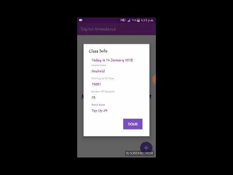 Download Attendance App Using Firebase Database Demo MP3, MKV, MP4