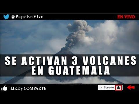 FUERTE ACTIVIDAD DE 3 VOLCANES - Naomi Campbell YOUTUBER Noticias Pepe En Vivo