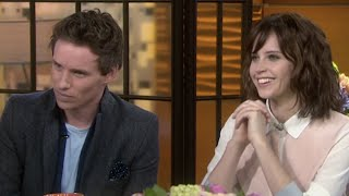 'The Theory Of Everything' Cast On Meeting Stephen Hawking | TODAY