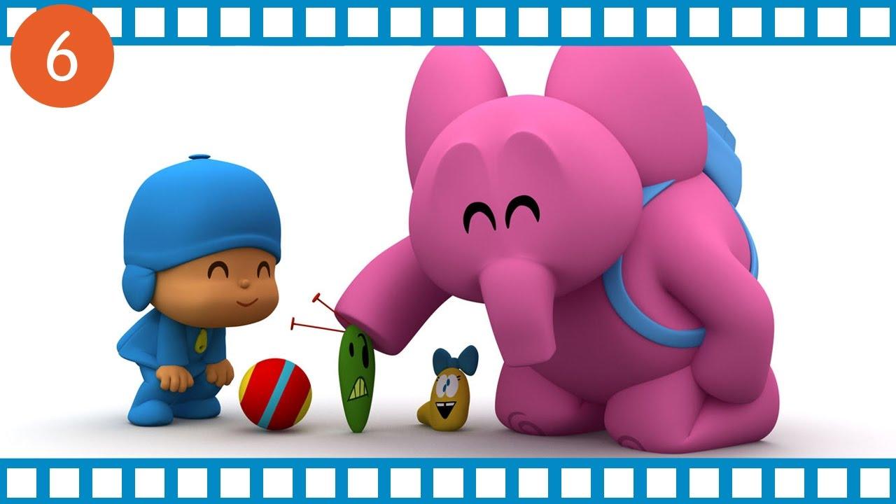 Pocoyo mezz ora di cartone animato educativo per i