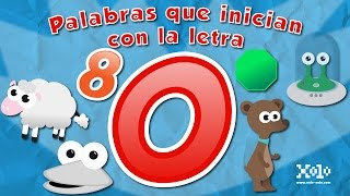 Words that start with the letter O for children in Spanish - Videos Aprende