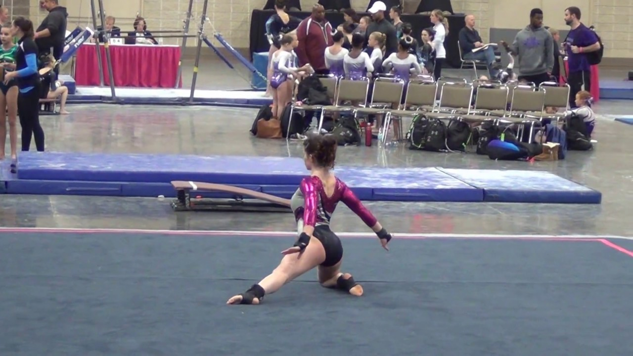 Gymnastics Level 7 Floor Routine - Ozone Invitational - Knoxville ...