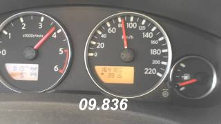 0-100 Nissa pathfinder 2011 Diesel