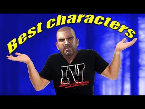 Top 10 BEST Characters in GTA IV The Lost and Damned