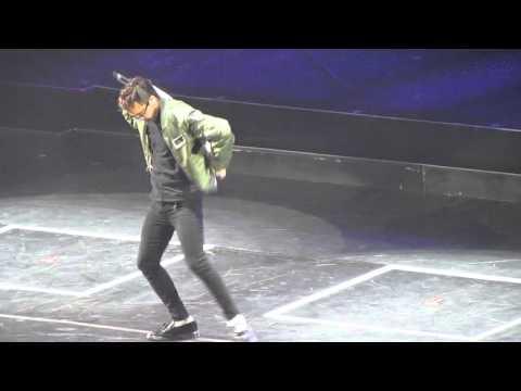 G-DRAGON dancing to Timberlake's SEXYBACK BigBang in SYDNEY