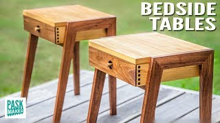 How to make these Bedside Tables