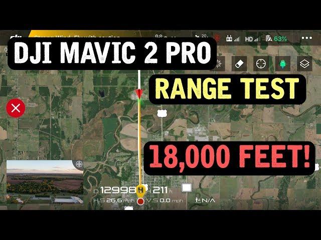 DJI Mavic 2 Pro / LONG RANGE Test - 3.4 Miles!