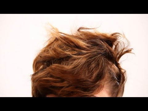 how-to-pin-hair-for-a-messy-updo-|-short-hairstyles