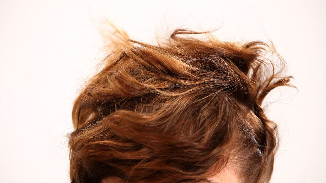 How to Pin Hair for a Messy Updo
