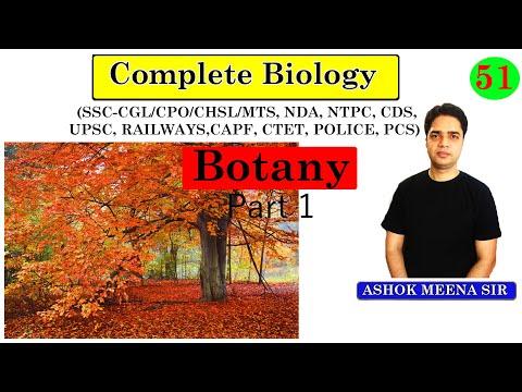 SSC CHSL /SSC CGL / UPSC / NDA / SSC CPO  ~ GENERAL BIOLOGY ### TOPIC - BOTANY {Part - 1} Classifica