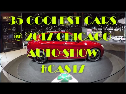 35 Coolest Cars at the 2017 Chicago Auto Show #CAS17