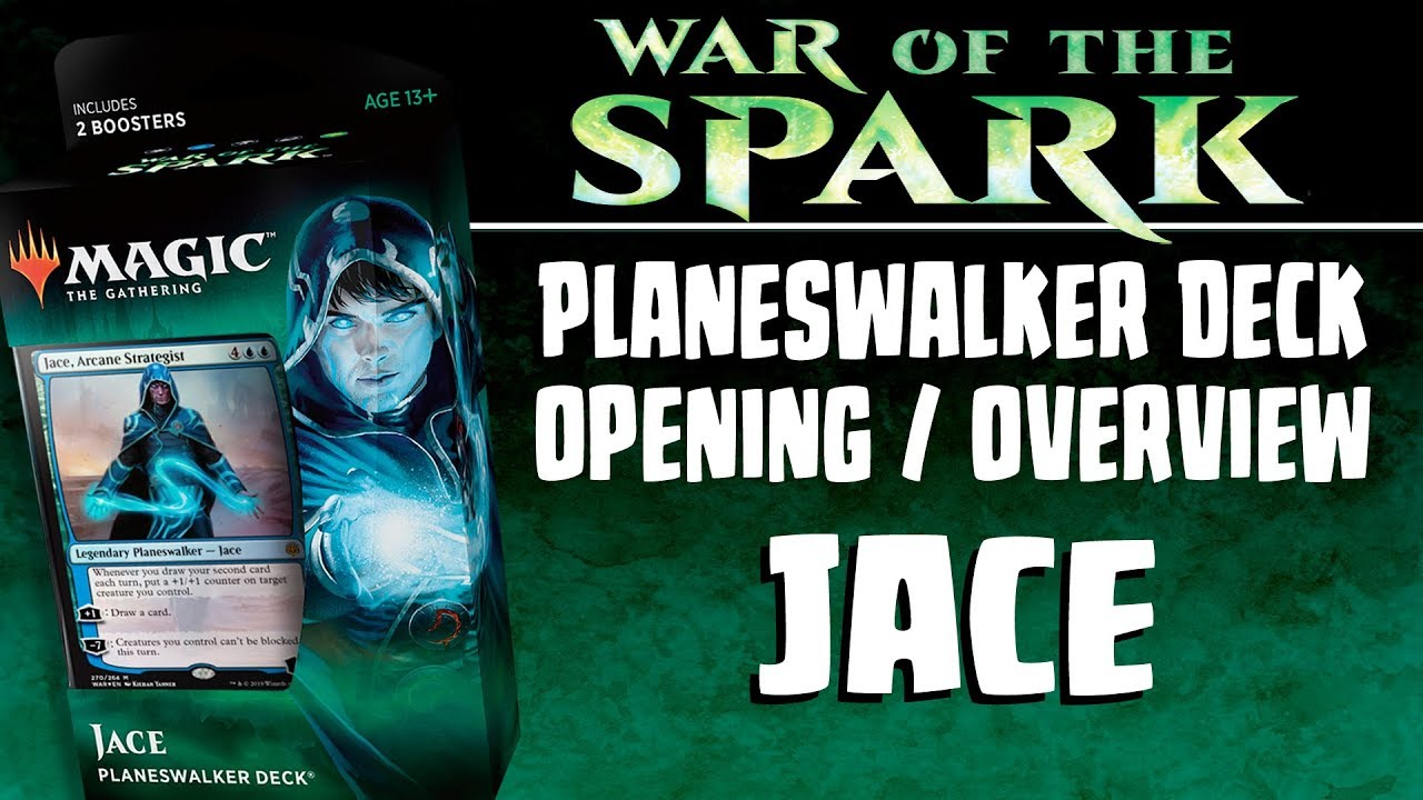 War of the Spark Planeswalker Gideon /& Jace buy now Magic The Gathering