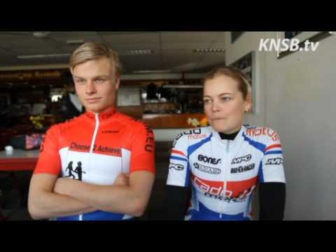 Koen Verweij en Mariska Huisman, het Skeeleren begint weer