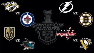 2018 Stanley Cup Playoffs - All Goals - Round 2