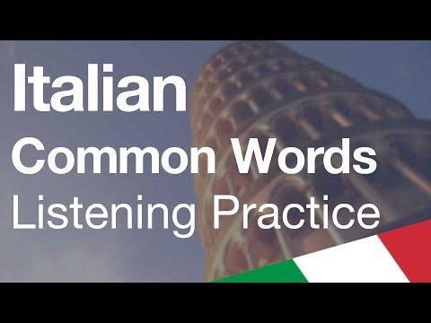 use-italian-common-words-[listening-practice]
