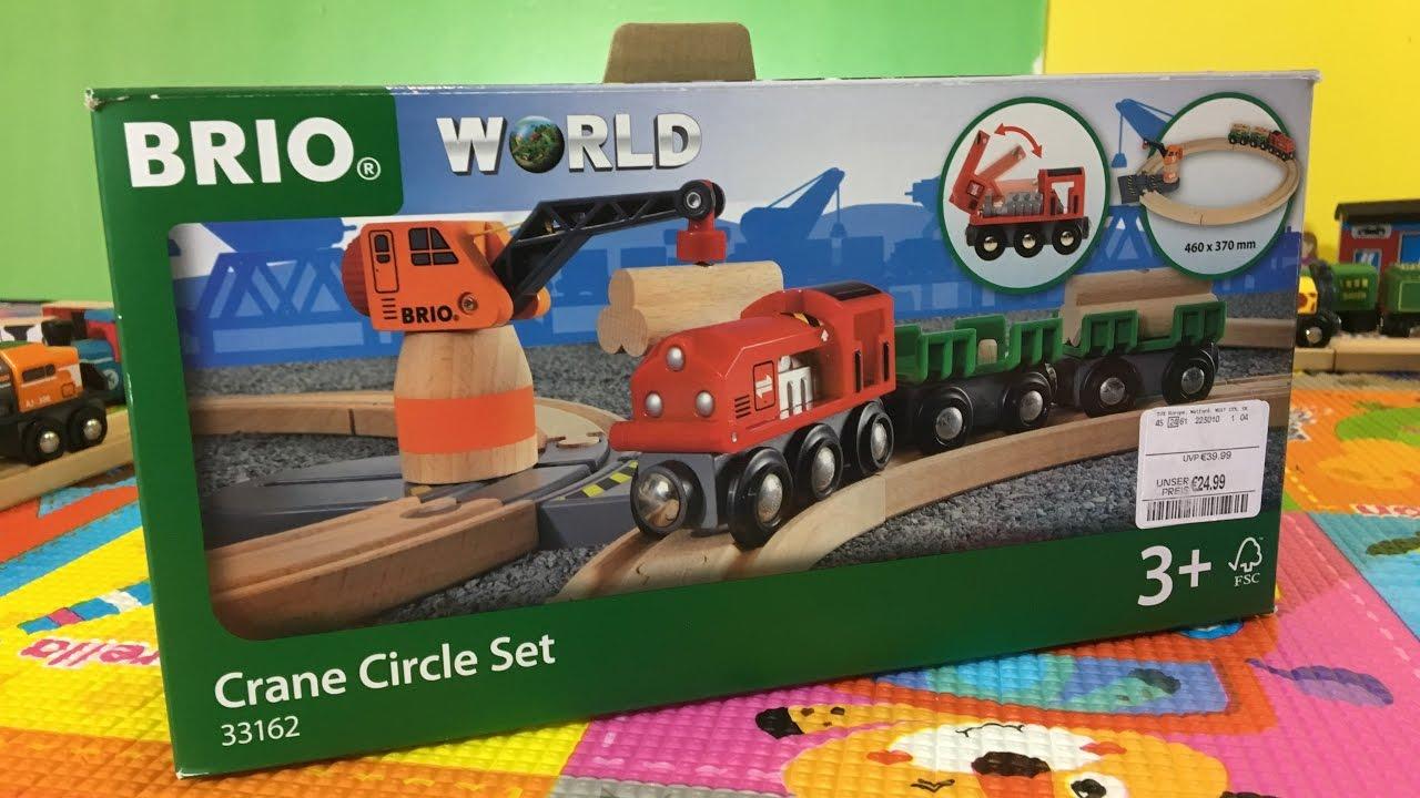 Unboxing Brio 33162 Crane Circle Set 03777
