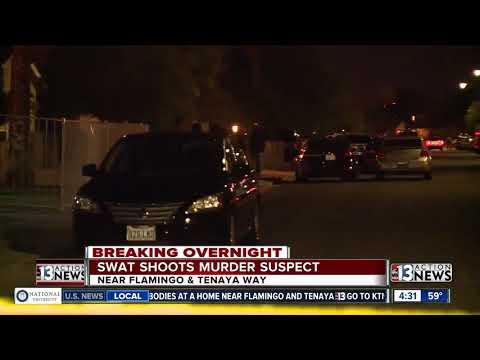 Police kills double homicide suspect