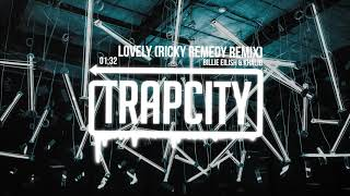 Download Lagu Billie Eilish Khalid Lovely Ricky Remedy Remix  MP3