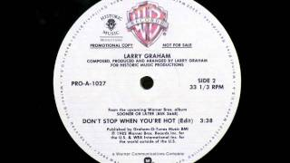 LARRY GRAHAM - Don