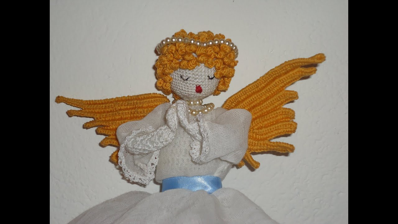 How to Crochet Angel Wings