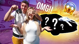 I SURPRISED MY GIRLFRIEND WITH OUR DREAM CAR!!!**SUPER EXCITING!!!**