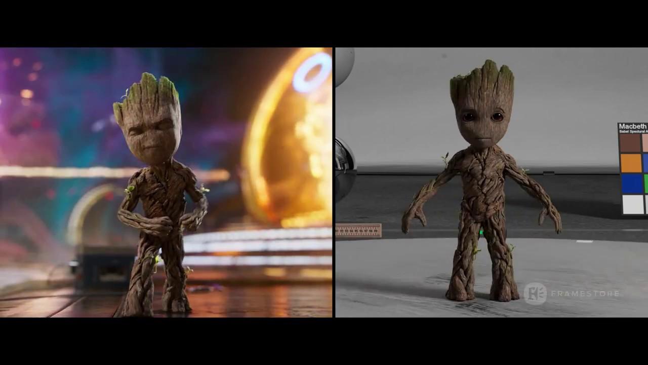 Guardians of the Galaxy Vol. 2 | VFX Breakdown | Framestore - YouTube
