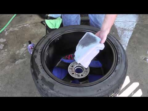 How To Detail Your Car Like A Professional - Part 1 - Waxing Your Wheels