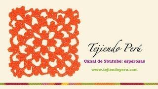 Repeat youtube video Punto fantasía en crochet # 18: tejiendo en cuadrado infinito