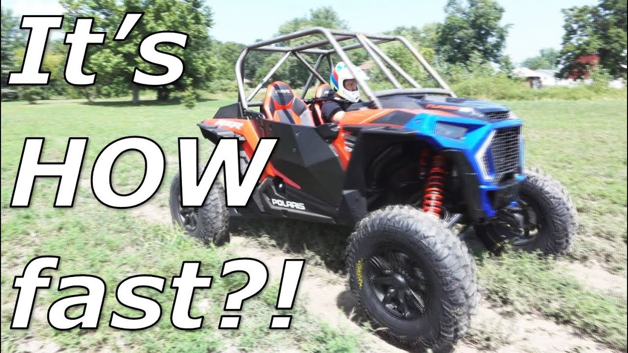 Evo Stage 3 RZR Turbo S 0-60 and 1/8th mile! by SXSBlog com
