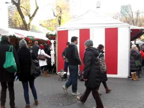 Holiday Outdoor Market - Union Square Park (Manhattan, NY)