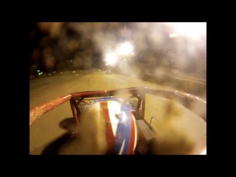 Rob Botts 07/31/11 Paragon Speedway Feature On Board