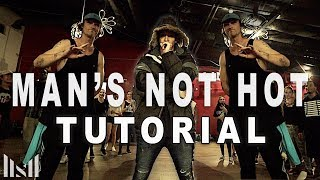 MAN'S NOT HOT - Big Shaq Dance TUTORIAL | Matt Steffanina & JB Choreography