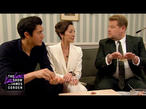 James Can't Impress Henry Golding's Crazy Rich Mom w/ Michelle Yeoh