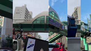 안산 육교에 설치한 현수막 LED 전광판!![무선 통신…