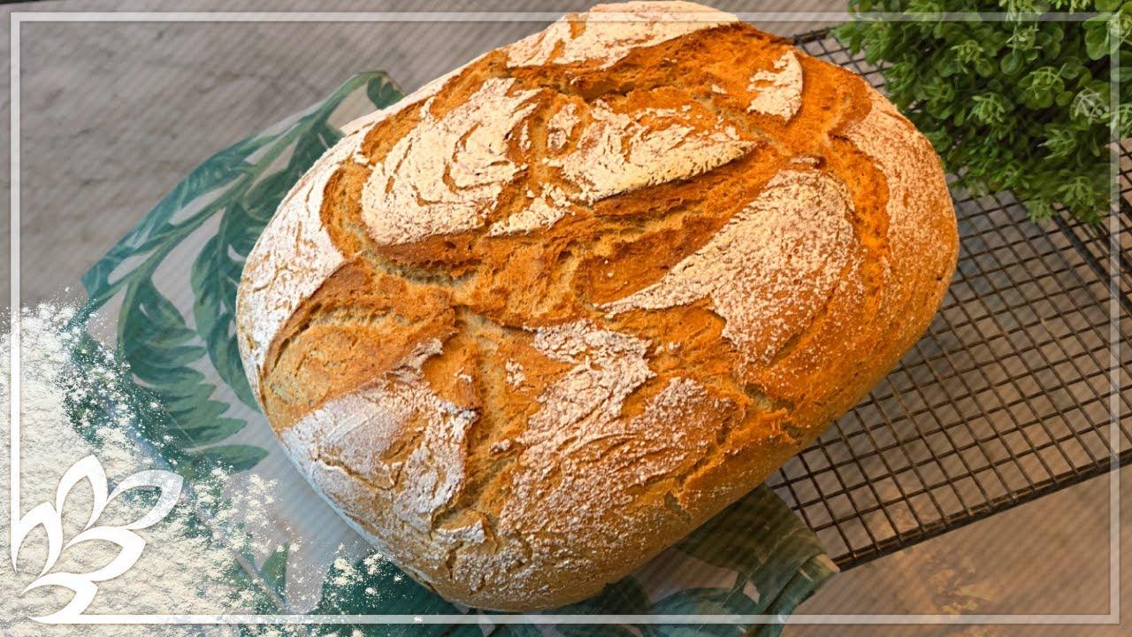 Die Krusten Königin - Brot einfach und schnell selber backen