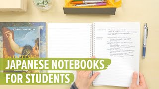 Unique Japanese Notebooks for Students