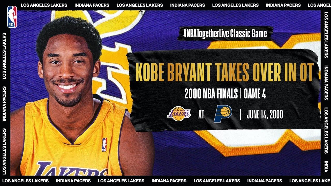 2000 #NBAFinals Game 4: Kobe's OT heroics eradicate LAL | Lakers @ Pacers | #NBATogetherLive #20HoopClass - NBA thumbnail