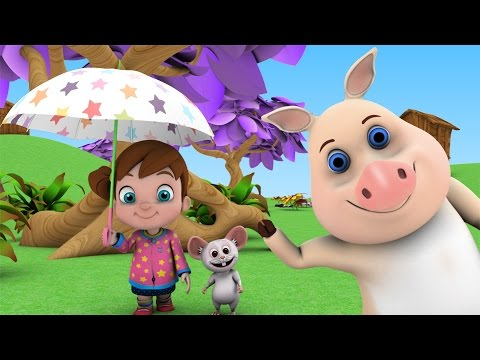 I Hear Thunder | Nursery Rhymes Songs Collection | Rhymes & Kids Songs | Baby Songs Animation